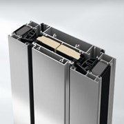 Highly thermally insulated ventilation vent aluminium window system - AWS70VV.HI