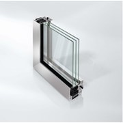 Super insulated aluminium concealed vent window system - AWS75BS.SI