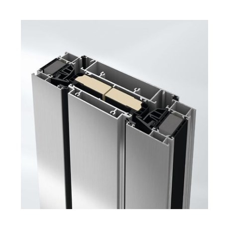 Super insulated ventilation vent aluminium window system - AWS75VV.SI