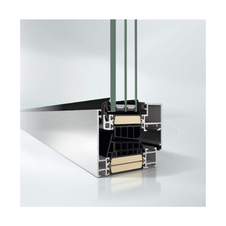 Super insulated aluminium concealed vent window system - AWS90BS.SI