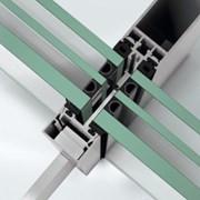 Slimline Panorama design stick curtain walling façade system - FWS35PD