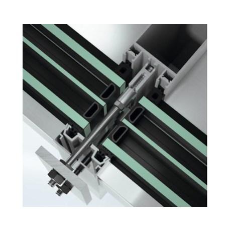 Stick curtain walling façade system - FWS50