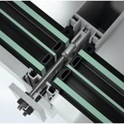 Stick curtain walling façade system - FWS60