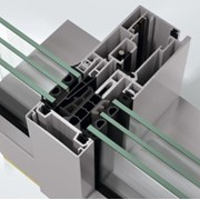 Concealed vent stick curtain walling façade system - FWS60 CV