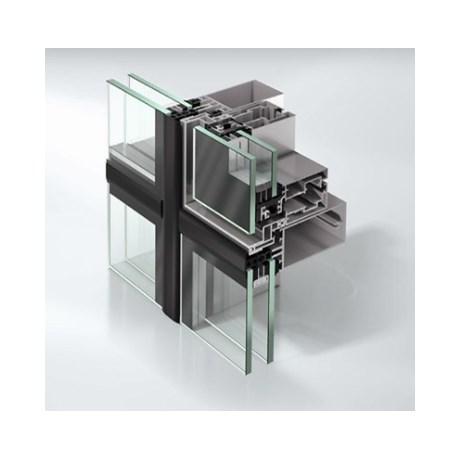 Structurally Glazed stick curtain walling façade system - FWS60SG