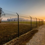 Nylofor 3D PRO XL + Bekafix Ultra - Metal mesh fence panel