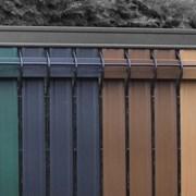 Screeno Line 3D + Nylofor-Twilfix Posts With Fixators - Metal mesh fence panel