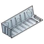 Glidevale Protect AT601 Righthand Blockwork Abutment Tray Short