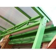 Fabricated Lean To - Portal Frame & Lattice Beam