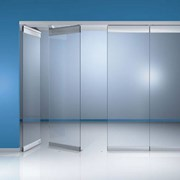 HSW-R Framed sliding door stacking glass wall system