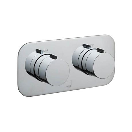 Altitude Concealed 2 Outlet Thermostatic Shower Valve - TAB-148/2-H-ALT