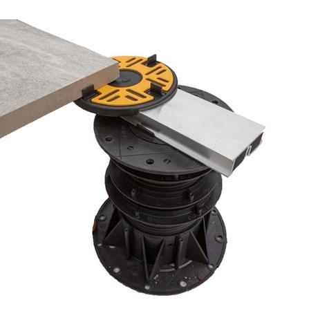Aluminium Rail for Paving and Decking