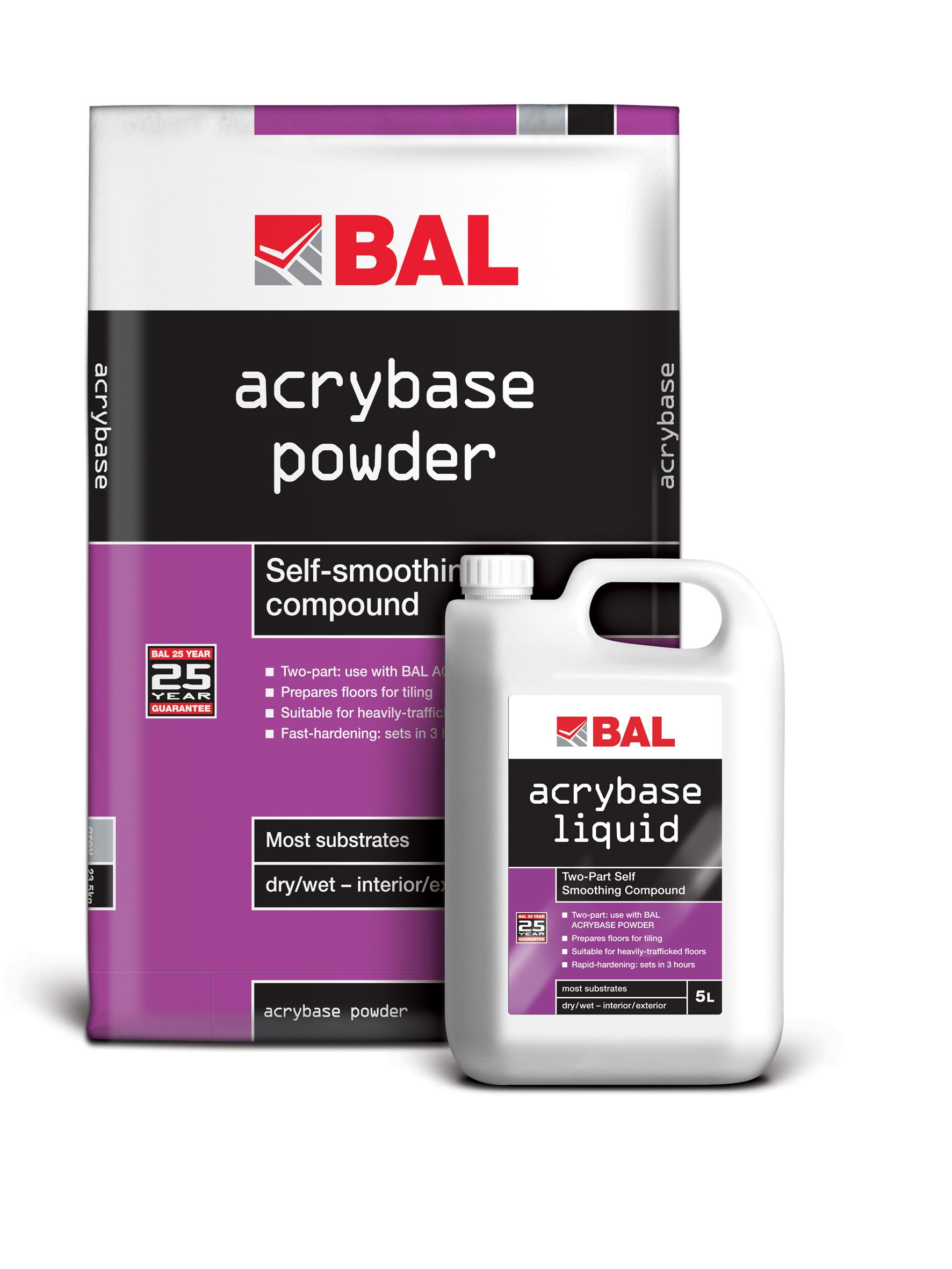 Building adhesives ltd bal acrybase leveller dailygadgetfo Choice Image