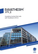 Insulating inverted flat roofs with Ravatherm XPS X