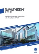 Insulating floors and basements with Ravatherm XPS X