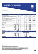 Ravatherm XPS X UB300 Technical Data Sheet