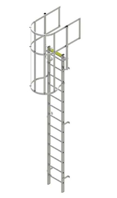 Fixed Vertical Ladder Type BL-WG (Aluminium)