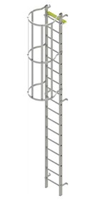 Fixed Vertical Ladder Type BL-WH (Aluminium)