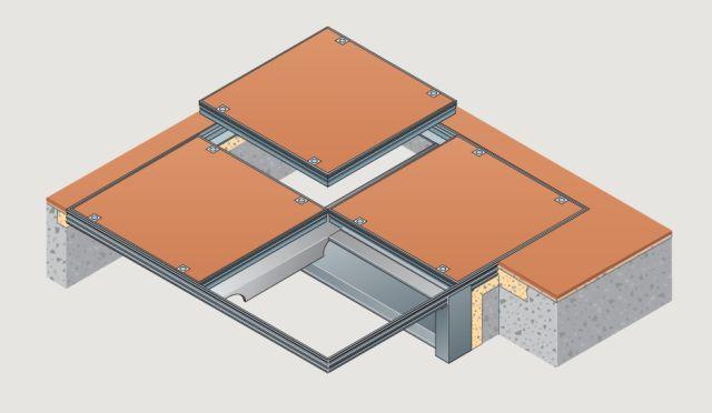 7500 Series (Aluminium) Multipart Cover