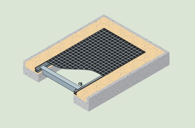5 Bar Series Tread Plate Duct Cover