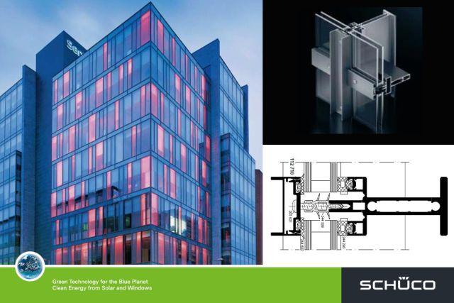 Fw50 S Steel Look Vertical Fa 231 Ade System Schueco Uk Ltd