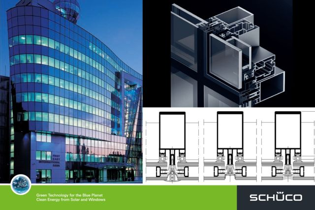 FW50+SG and FW60+SG Structural Glazing Façade System