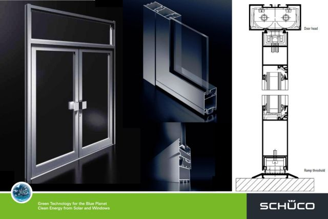 Ads 50 Ni Non Insulated Door System Schueco Uk Ltd