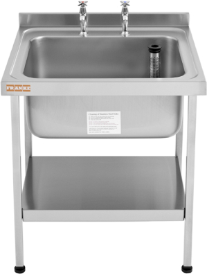 Midi catering sinks (650 mm wide)