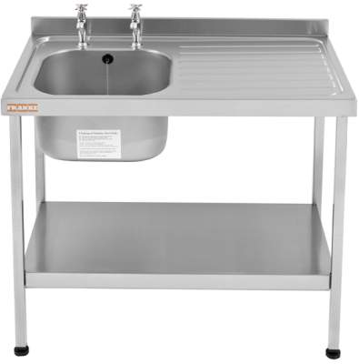 Mini catering sinks (600 mm wide)