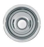 Rondo inset washbasins without overflow 32 mm