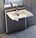 Height Adjustable Washbasin Brackets