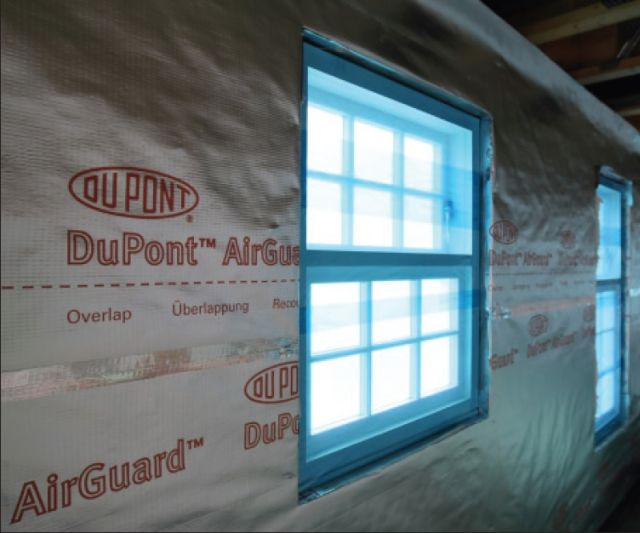 Image result for dupont airguard reflective membrane