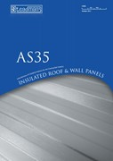AS35 Insulated Roof & Wall Panels Brochure