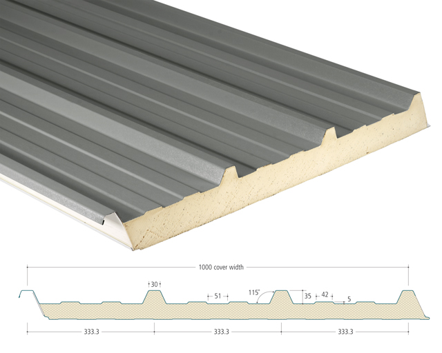 AS35/ 1000 Insulated Panels - SIG Building Solutions