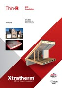 Insulation for Pitched Roofs (XT/PR)