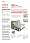 Insulation for Mechanically Fixed Single Ply Waterproofing Systems (FR/ALU)