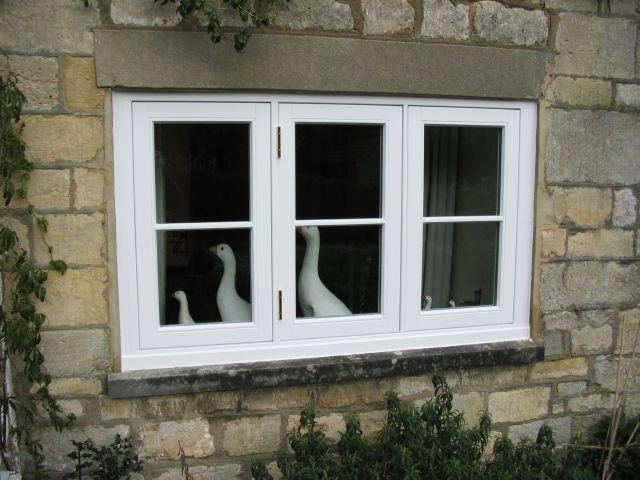 93 mm Flush Casement Window