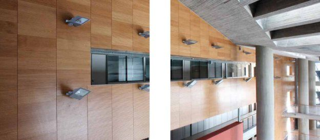 Acoustic Timber Panel System I-Acoustic