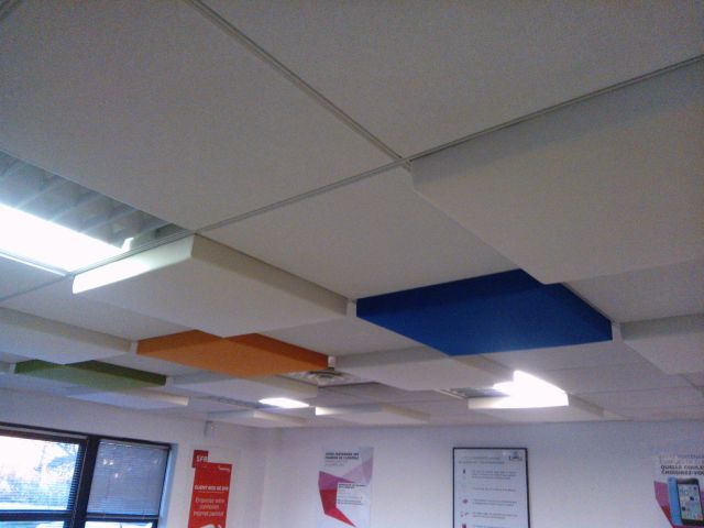 ProSonic Fractus 3D Acoustic Ceiling Tiles