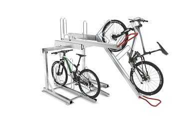 Vario Hub 2 Tier Cycle Rack