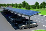 Kensington Dual Pitch Solar Canopy 10 KWp
