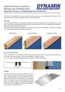 Dynamik Sports Flooring Accessories