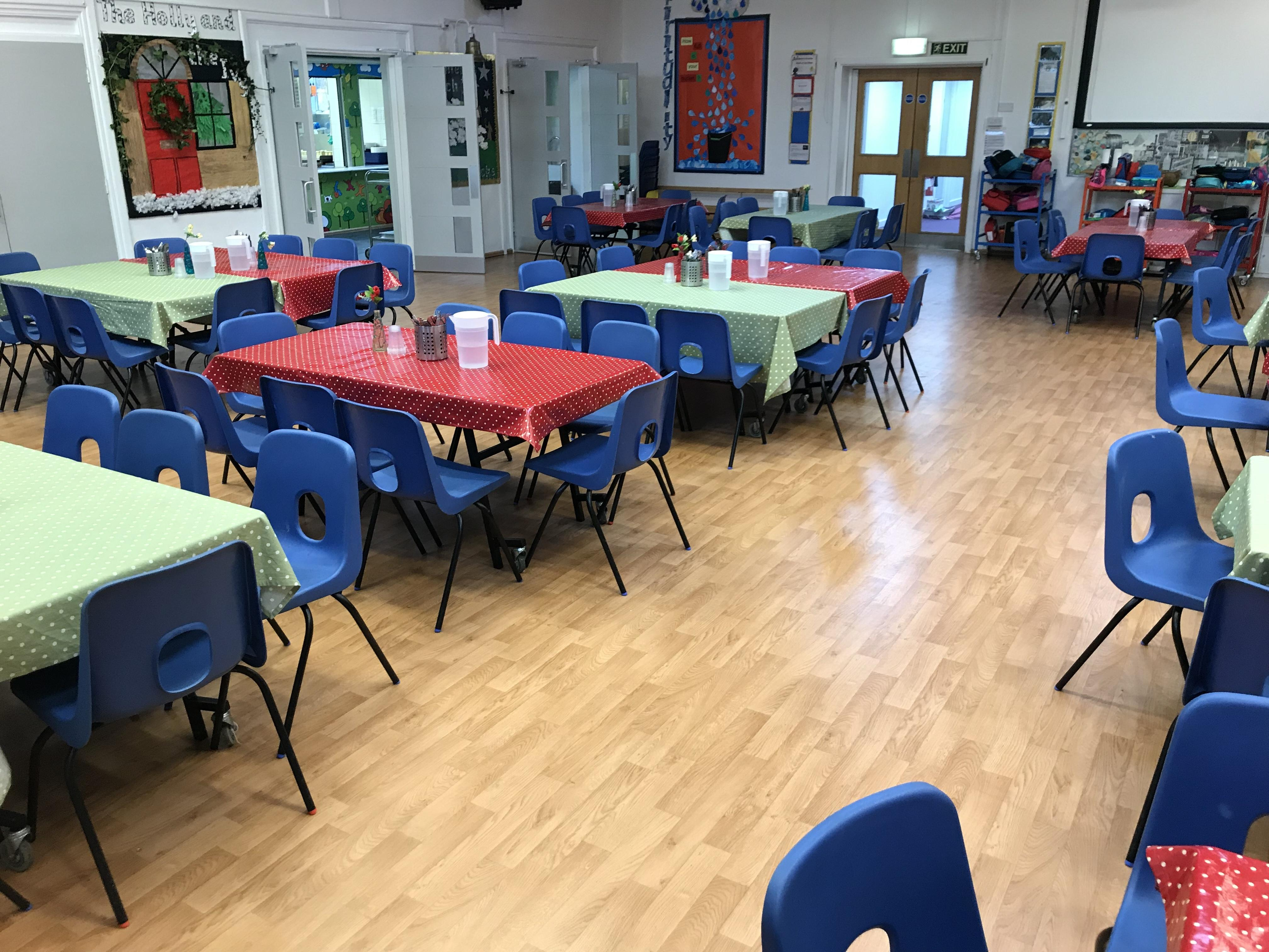 Alverstoke Junior School School Hall