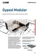 GYPSOL Modular Screed