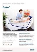 Arjo Height Adjustable Reclining Assesited Bath - Parker
