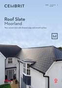 Roof Slate: Moorland fibre cement slate