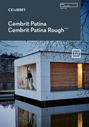 Cembrit Patina, Rough - fibre cement rainscreen cladding