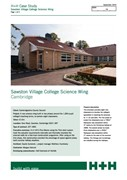 Case Study - Sawston Village College Science Wing