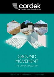 Ground Movement: The Cordek Solution