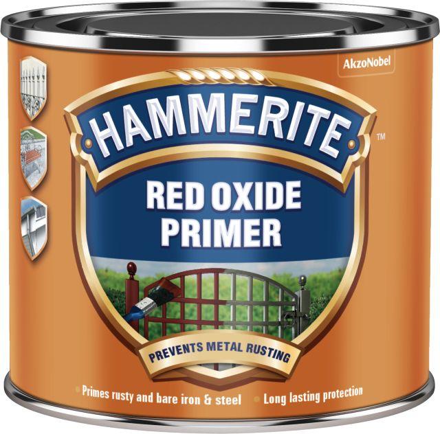 red oxide primer hammerite brand of ici paints akzonobel. Black Bedroom Furniture Sets. Home Design Ideas